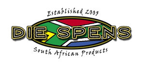 Logo Die Spens - South African Shop in Amersfoort, The Netherlands
