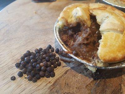 Padkos Peppered Steak Pie