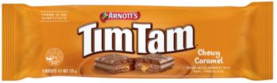 Arnott's Tim Tam - Chewy Caramel - (AUS)