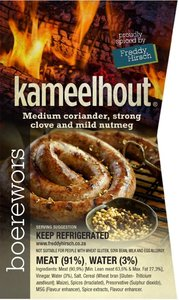 Kameelhout Boerewors - For collection only
