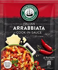 Robertsons Italian Arrabbiata Cook-in-Sauce