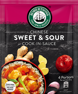 Robertsons Chinese Sweet & Sour Cook-In-Sauce