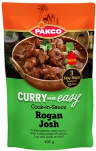 Pakco Curry Cook-in-Sauce Lamb Rogan Josh