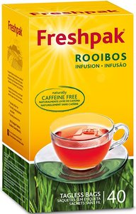 Freshpak Rooibos Tea 40 Tagless Teabags