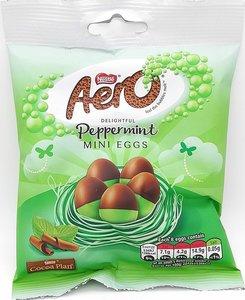 Nestlé Aero Peppermint Mini Eggs - (UK)