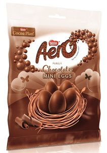 Nestlé Aero Milk Mini Eggs - (UK)