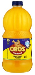 Brookes Oros Pineapple Squash - Limited 4 per order