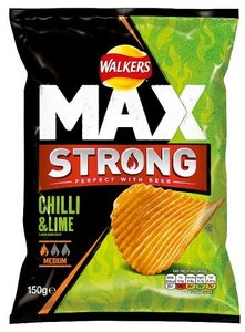 Walkers Max Strong Chilli & Lime - (UK)