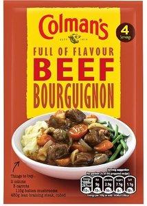 Colman's Beef Bourguignon - (UK)
