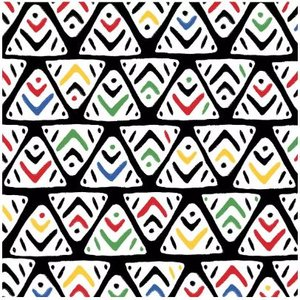 Africa Napkin Set 33 x 33 cm