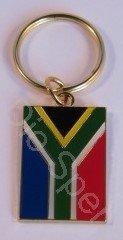 South African Metal Keyring