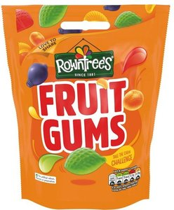 Rowntrees Fruit Gums - (UK)