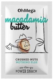 OhMega Macadamia Butter - on-the-go Power Snack