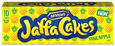 McVitie's Jaffa Cakes Pineapple