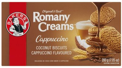 Bakers Romany Creams Cappuccino Biscuits
