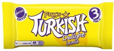 Fry's Turkish Delight Lemon 3pack - (UK)