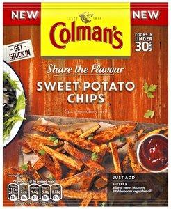 Colman's Sweet Potato Chips - (UK)