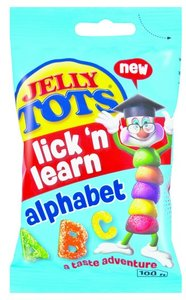 Jelly Tots Lick 'n Learn Alphabet