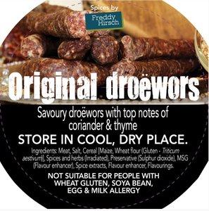Freddy Hirsch Original Dry Wors Spice