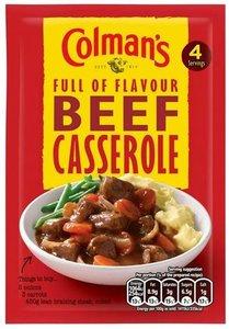 Colman's Beef Casserole - (UK)