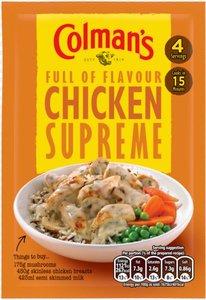 Colman's Chicken Supreme - (UK)