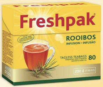 Freshpak Rooibos Tea 80 Tagless Teabags