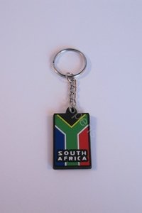 South African PVC Keyring