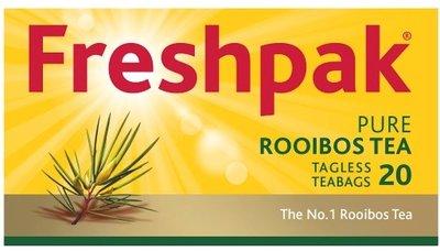 Freshpak Rooibos Tea 20 Tagless Teabags