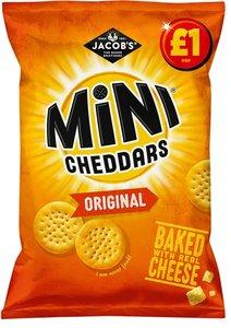Jacob's Mini Cheddars Original - (UK)