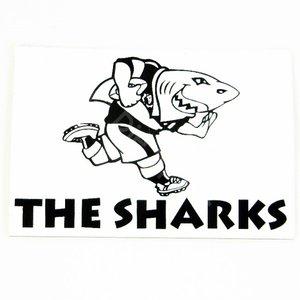 Sharks Sticker 11.5 x 7.0 cm
