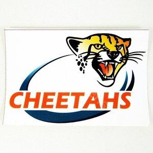 Cheetah Sticker 11.5 x 7.0 cm