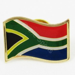 South African Flag Lapel Pin