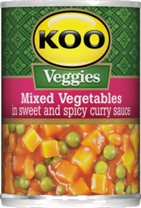 Koo Veggies Mixed Vegetables in Sweet and Spicy Curry Sauce