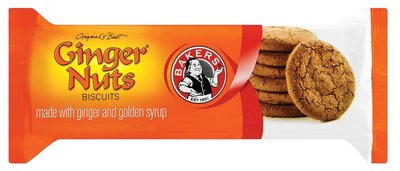 Bakers Ginger Nuts Biscuits