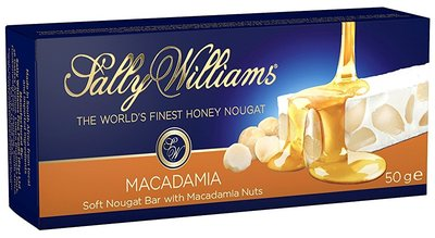 Sally Williams Macadamia Nougat Bar