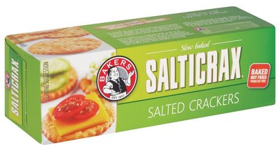 Bakers Salticrax Salted Crackers