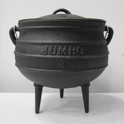 Cast Iron Pot 3-Legged Size 4