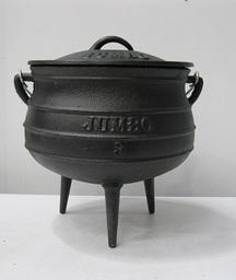 Cast Iron Pot 3-Legged Size 3