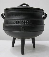 Cast Iron Pot 3-Legged Size 2