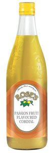 Rose's Passion Fruit Cordial