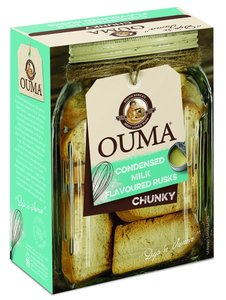 Ouma Condensed Milk Flavoured Rusks