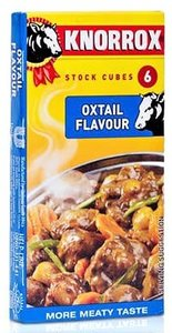 Knorrox Oxtail Stock Cubes