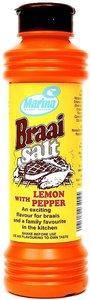 Marina BBQ Salt with Lemon Pepper
