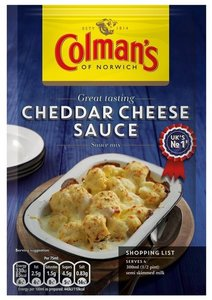 Colman's Cheddar Cheese Sauce - (UK)