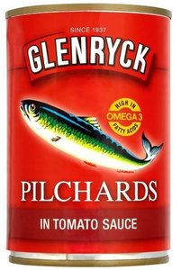 Glenryck Pilchards in Tomato Sauce