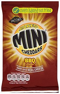 Jacob's Mini Cheddars BBQ - (UK)