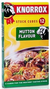 Knorrox Mutton Stock Cubes