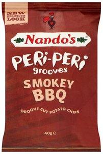 Nando's Peri-Peri Grooves Smokey BBQ - (UK)