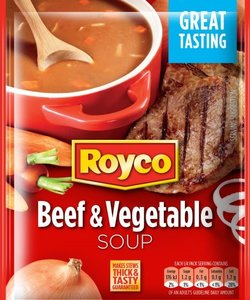 Royco Beef & Vegetable Soup