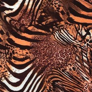 Be Wild Chestnut Napkin Set 33 x 33 cm